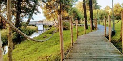 Szczególnie polecamy spacer promenadą. Tolicząca około 700 m drewniana konstrukcja prowadząca nadtaflą jeziora Raduńskiego urozmaicona licznymi ławeczkami, latarniami itarasami widokowymi. Pomost kończy się wmarinie, gdzie wokresie lata można wypożyczyć sprzęt dopływania. Odległość: 7 km